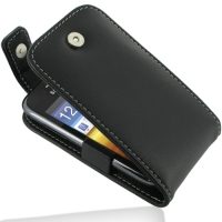 Leather Flip Top Case for Samsung Galaxy Y Duos GT-S6102