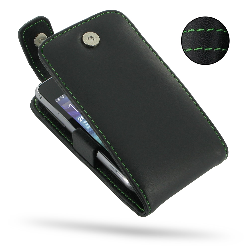 10% OFF + FREE SHIPPING, Buy Best PDair Top Quality Handmade Protective Samsung Wave Y Leather Flip Top Case (Green Stitch). Pouch Sleeve Holster Wallet You also can go to the customizer to create your own stylish leather case if looking for additional co