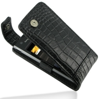 10% OFF + FREE SHIPPING, Buy PDair Quality Handmade Protective Sony Ericsson Xperia Ray Leather Flip Top Case (Black Croc Pattern) online. You also can go to the customizer to create your own stylish leather case if looking for additional colors, patterns
