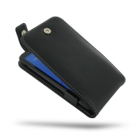Leather Flip Top Case for Sony Xperia E4 Dual E2104