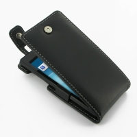 Sony Xperia Ion Leather Flip Top Case PDair Premium Hadmade Genuine Leather Protective Case Sleeve Wallet