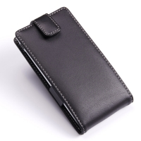 Leather Flip Top Case for Sony Xperia ZL L35H