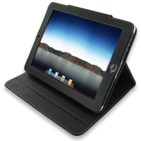 Leather Folio Stand Case for Apple iPad