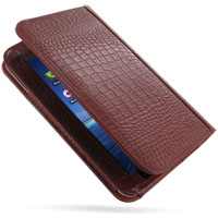 10% OFF + FREE SHIPPING, Buy Best PDair Quality Handmade Protective Samsung Galaxy Tab Leather Folio Stand Case (Red Croc Pattern). You also can go to the customizer to create your own stylish leather case if looking for additional colors, patterns and ty