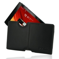 Leather Horizontal Pouch Case for Acer ICONIA Tab A100 (Black) Ver. 2