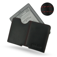 10% OFF + FREE SHIPPING, Buy Best PDair Quality Handmade Protective Amazon Kindle 4 Genuine Leather Pouch Case Ver2 (Red Stitch) You also can go to the customizer to create your own stylish leather case if looking for additional colors, patterns and types