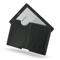 Leather Horizontal Pouch Case for Amazon Kindle Lite 2 (Black) Ver. 2
