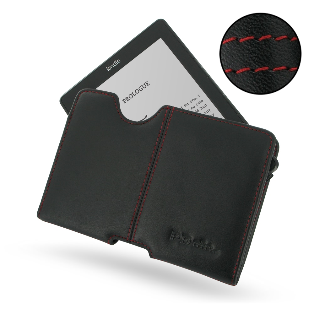 10% OFF + FREE SHIPPING, Buy Best PDair Quality Handmade Protective Amazon Kindle Genuine Leather Pouch Case Ver.2 (Red Stitch). You also can go to the customizer to create your own stylish leather case if looking for additional colors, patterns and types