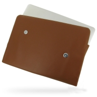 Leather Horizontal Pouch Case for Apple MacBook Air 11 Ver.2 (Brown)
