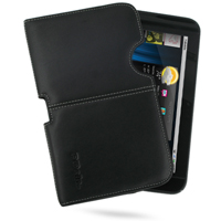 Leather Horizontal Pouch Case for Dell Streak 7 (Black) Ver. 2
