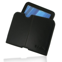 Leather Horizontal Pouch Case for HP TouchPad (Black) Ver. 2
