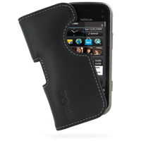10% OFF + FREE SHIPPING, Buy Best PDair Top Quality Handmade Protective Nokia N97 mini Leather Pouch Case Ver.2 (Black) online. You also can go to the customizer to create your own stylish leather case if looking for additional colors, patterns and types.