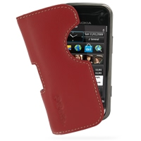 10% OFF + FREE SHIPPING, Buy Best PDair Top Quality Handmade Protective Nokia N97 mini Leather Pouch Case Ver.2 (Red) online. You also can go to the customizer to create your own stylish leather case if looking for additional colors, patterns and types.