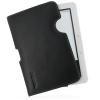Leather Horizontal Pouch Case for Nook (Black) Ver. 2