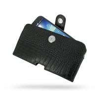 10% OFF + FREE SHIPPING, Buy PDair Quality Handmade Protective Samsung Galaxy Mega 6.3 Leather Holster Case (Black Croc Pattern) online. You also can go to the customizer to create your own stylish leather case if looking for additional colors, patterns a