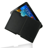 Samsung Galaxy Tab 8.9 Leather Pouch Case Ver.2 (Black) PDair Premium Hadmade Genuine Leather Protective Case Sleeve Wallet