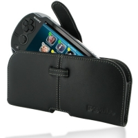 10% OFF + FREE SHIPPING, Buy Best PDair Top Quality Handmade Protective Sony PS Vita Leather Pouch Case Ver.2 (Black) online. You also can go to the customizer to create your own stylish leather case if looking for additional colors, patterns and types.