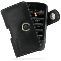 Acer DX900 Leather Holster Case (Black) PDair Premium Hadmade Genuine Leather Protective Case Sleeve Wallet