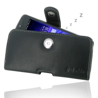 Acer Liquid E700 Leather Holster Case PDair Premium Hadmade Genuine Leather Protective Case Sleeve Wallet