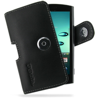 Acer Liquid Metal S120 Leather Holster Case PDair Premium Hadmade Genuine Leather Protective Case Sleeve Wallet
