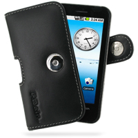 Leather Horizontal Pouch Case with Belt Clip for Acer Neo Touch P400/beTouch E400 (Black)