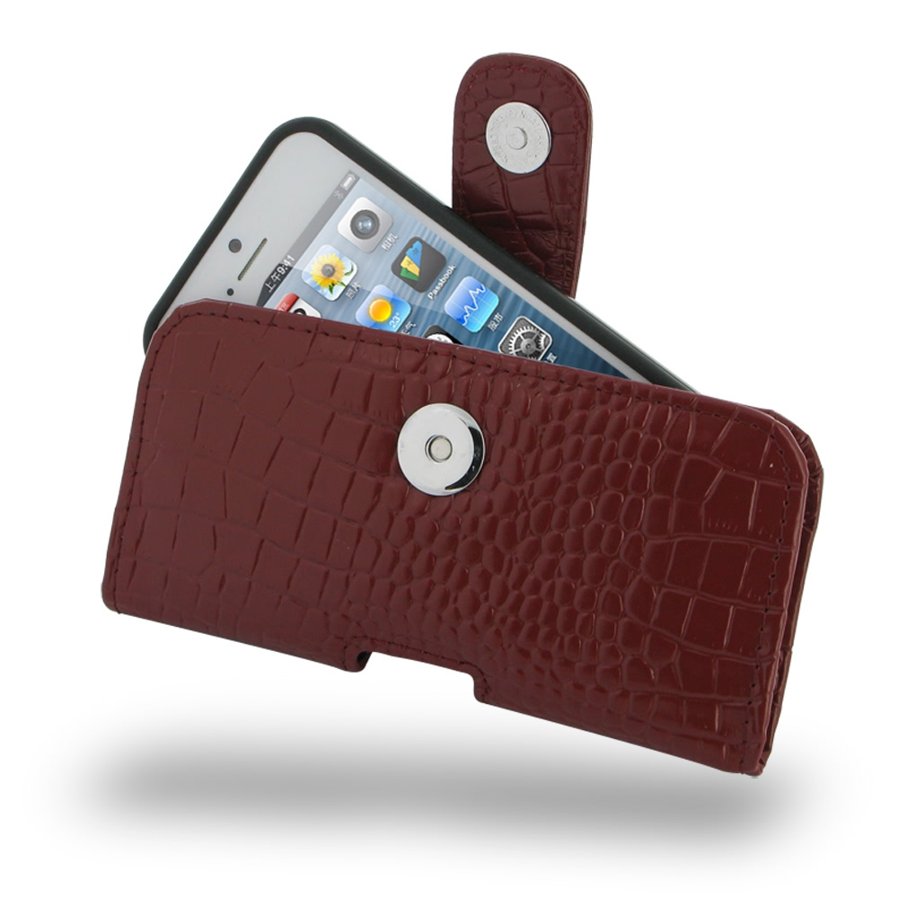 10% OFF + FREE SHIPPING, Buy PDair Quality Handmade Protective iPhone 5 | iPhone 5s (in Slim Cover) Holster Case (Red Croc Pattern). You also can go to the customizer to create your own stylish leather case if looking for additional colors, patterns and t