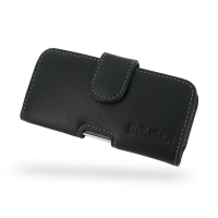 Leather Horizontal Pouch Case with Belt Clip for Apple iPhone 5c