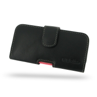 Leather Horizontal Pouch Case with Belt Clip for Apple iPhone 5c ( Compatible with 1.0 mm Slim Case / Cover on )