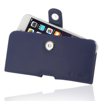 Leather Horizontal Pouch Case with Belt Clip for Apple iPhone 6 Plus | iPhone 6s Plus (Purple)