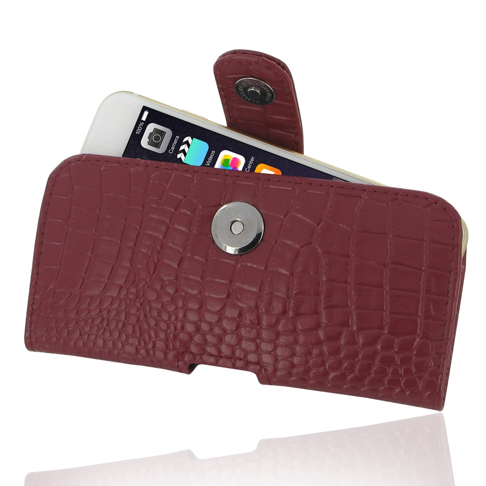 10% OFF + FREE SHIPPING, Buy Best PDair Quality Handmade Protective iPhone 6 | iPhone 6s Genuine Leather Holster Case (Red Croc Pattern). Pouch Sleeve Wallet You also can go to the customizer to create your own stylish leather case if looking for addition