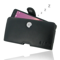 Leather Horizontal Pouch Case with Belt Clip for Asus ZenFone 6