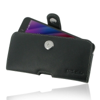 Asus Zenfone Selfie ZD551KL Leather Holster Case PDair Premium Hadmade Genuine Leather Protective Case Sleeve Wallet