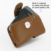 10% OFF + FREE SHIPPING, Buy Best PDair Quality Handmade Protective BlackBerry Style 9670 Genuine Leather Holster Case (Brown). Pouch Sleeve Holster Wallet You also can go to the customizer to create your own stylish leather case if looking for additional