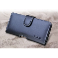 Leather Horizontal Pouch Case with Belt Clip for Fujitsu ARROWS NX F-05F