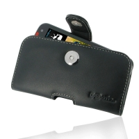 Leather Horizontal Pouch Case with Belt Clip for HTC Desire 310