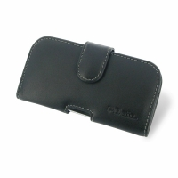 Leather Horizontal Pouch Case with Belt Clip for HTC Desire 500