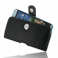 HTC Desire 826 Leather Holster Case PDair Premium Hadmade Genuine Leather Protective Case Sleeve Wallet