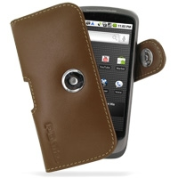 10% OFF + FREE SHIPPING, Buy Best PDair Top Quality Handmade Protective HTC Google Nexus One Leather Holster Case (Brown). Pouch Sleeve Holster Wallet You also can go to the customizer to create your own stylish leather case if looking for additional colo