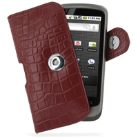 10% OFF + FREE SHIPPING, Buy Best PDair Quality Handmade Protective HTC Google Nexus One Leather Holster Case (Red Croc Pattern). Pouch Sleeve Holster Wallet You also can go to the customizer to create your own stylish leather case if looking for addition