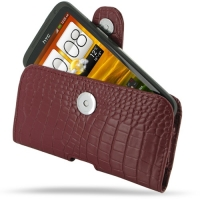 10% OFF + FREE SHIPPING, Buy PDair Top Quality Handmade Protective HTC One X / One XL Leather Holster Case (Red Croc Pattern). Pouch Sleeve Holster Wallet You also can go to the customizer to create your own stylish leather case if looking for additional