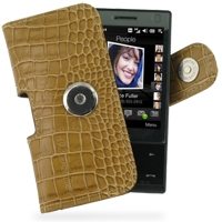 10% OFF + FREE SHIPPING, Buy Best PDair Quality Handmade Protective HTC Touch Diamond 100 Leather Holster Case (Brown Croc Pattern). You also can go to the customizer to create your own stylish leather case if looking for additional colors, patterns and t