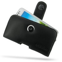 Huawei U8825D Leather Holster Case PDair Premium Hadmade Genuine Leather Protective Case Sleeve Wallet