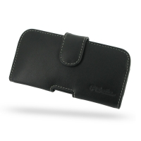 Huawei Ascend P1 LTE Leather Holster Case PDair Premium Hadmade Genuine Leather Protective Case Sleeve Wallet