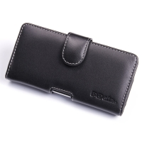 Huawei Ascend P2 Leather Holster Case PDair Premium Hadmade Genuine Leather Protective Case Sleeve Wallet