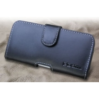 Leather Horizontal Pouch Case with Belt Clip for Kyocera DIGNO M KYL22