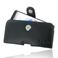 Leather Horizontal Pouch Case with Belt Clip for LG G3 D850 D855