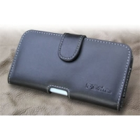 LG isai LGL22 Leather Holster Case PDair Premium Hadmade Genuine Leather Protective Case Sleeve Wallet