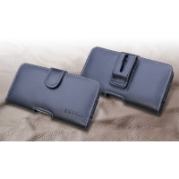 LG isai vivid LGV32 Leather Holster Case PDair Premium Hadmade Genuine Leather Protective Case Sleeve Wallet
