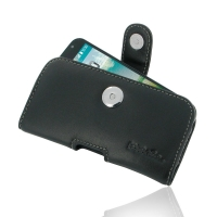 LG L90-D410 Leather Holster Case PDair Premium Hadmade Genuine Leather Protective Case Sleeve Wallet