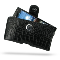 10% OFF + FREE SHIPPING, Buy PDair Top Quality Handmade Protective LG Optimus 4X HD Leather Holster Case (Black Croc Pattern). Pouch Sleeve Holster Wallet You also can go to the customizer to create your own stylish leather case if looking for additional